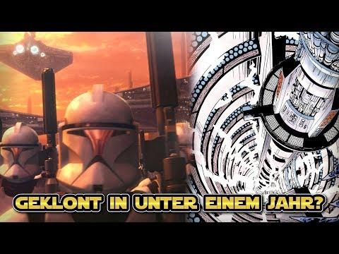 Star Wars: Wie die Republik Milliarden neuer Klone in unter einem Jahr bekam [Legends]