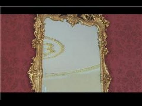 Antique Furniture : How to Restore Antique Mirrors