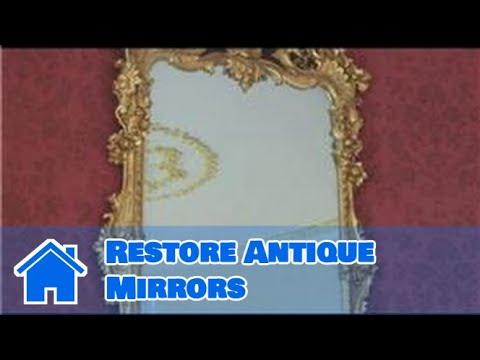 Antique Furniture : How to Restore Antique Mirrors