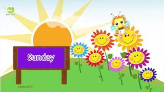 The days of the week song kids  English  French  Arabic