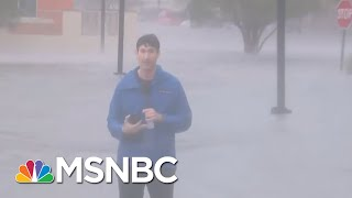 Hurricane Sally Floodwaters Submerge Cars In Pensacola, Florida | Stephanie Ruhle | MSNBC