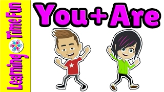 Contractions | Grammar for Kids | English for Kids | Kid's Learning Videos | ESL | EFL