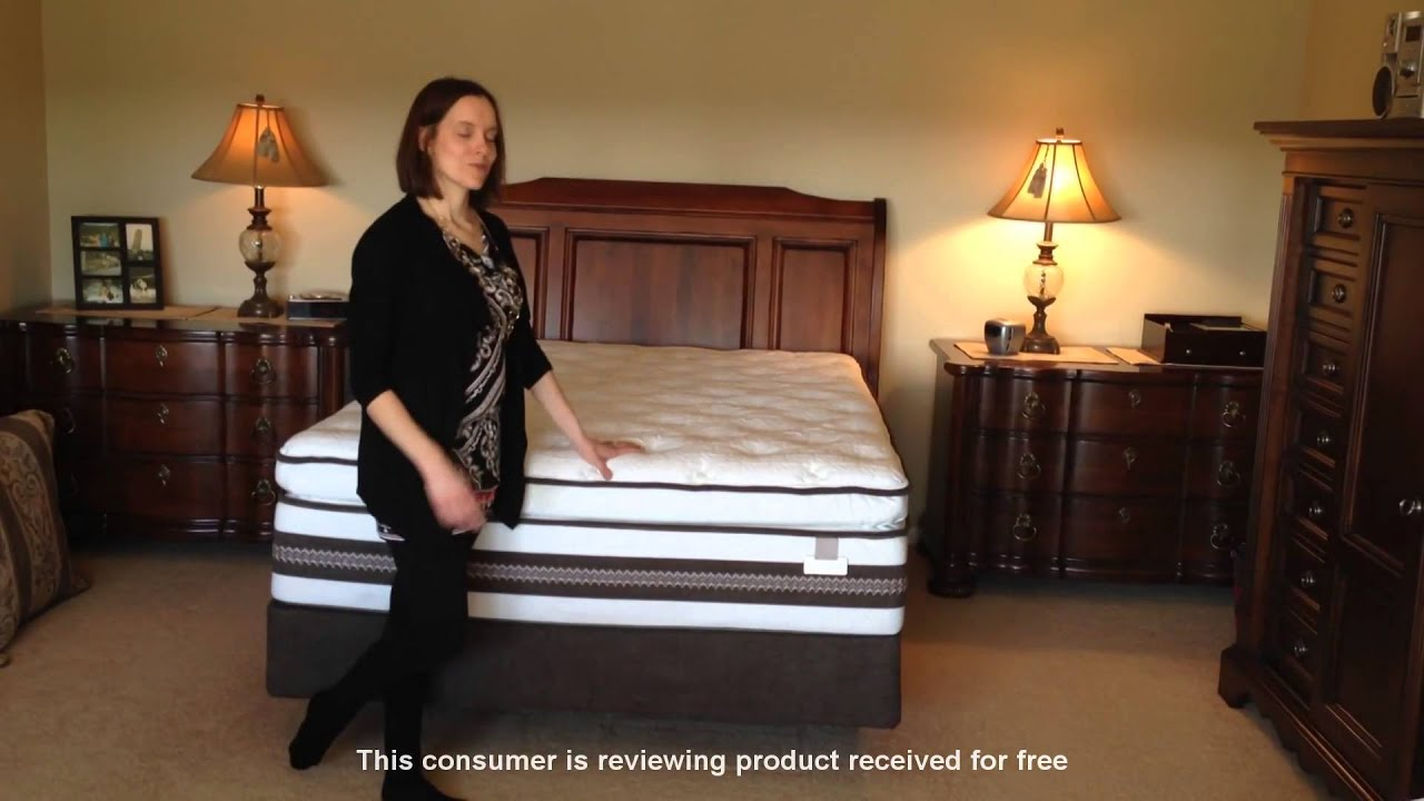 Hear Rebecca S First Impression Of Her Serta Iseries Honoree Super Pillow Top Mattress Sears Product Reviews