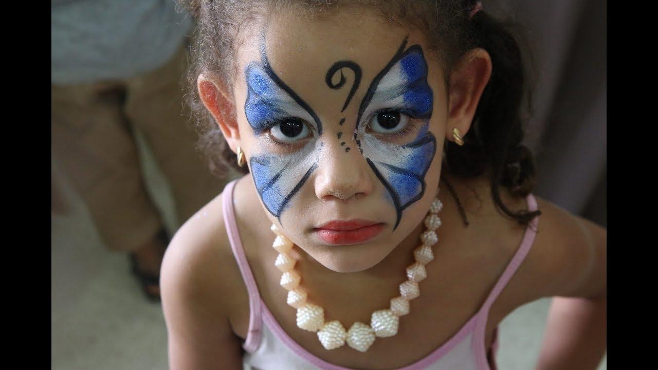 Maquillage Sur Visage Clown Sam Alger Clown Sur Alger Maquilleur