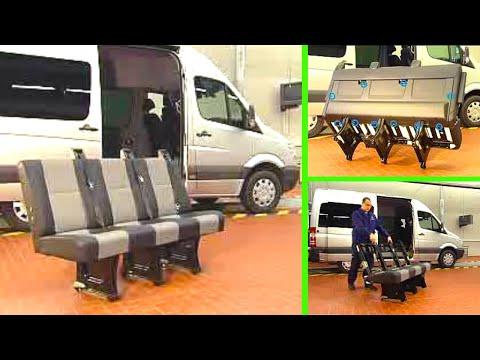 Mercedes Benz Sprinter Removeinstall Upholstery Of Passenger
