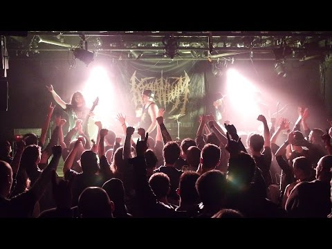 KRAANIUM @ Jardin Moderne (Rennes, France) Brutal Death Night III 2016 [Multi-Cam] Full Live !