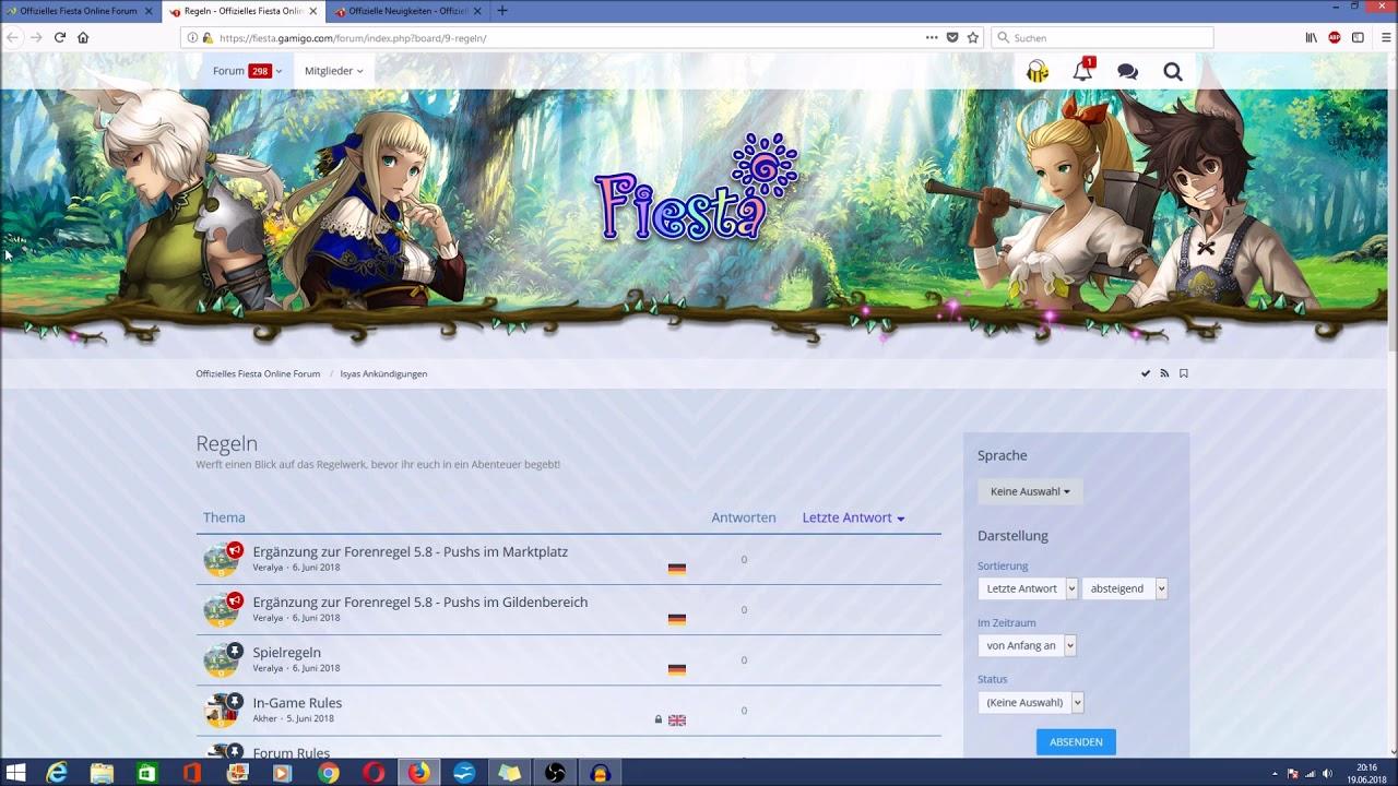 Forum Fiesta Online