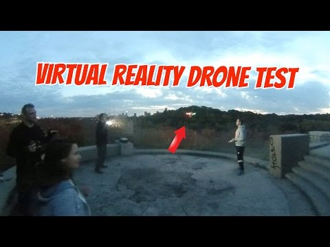 Virtual Reality Drone Test - How High Can Drones Fly?  NEW VR Video