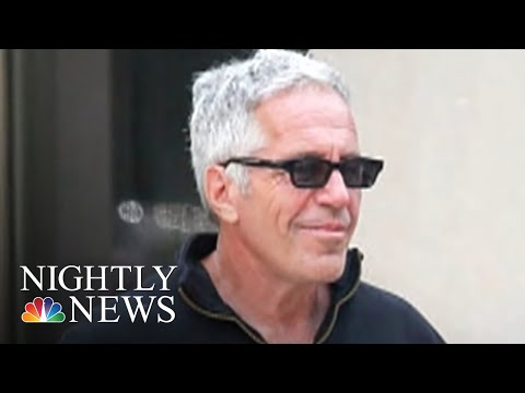Epstein Had Cash Diamonds & A Foreign Passport Stashed In Safe Prosecutors Say  NBC Nightly News