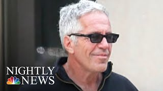 Epstein Had Cash, Diamonds & A Foreign Passport Stashed In Safe, Prosecutors Say | NBC Nightly News