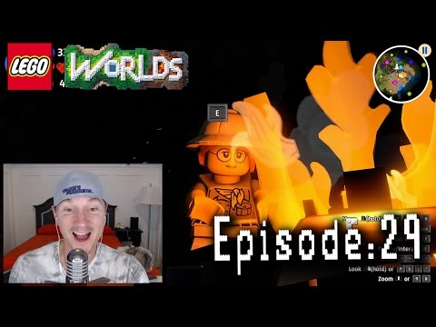 Let's Play Lego Worlds: Episode 29: Bandits, Campfires, and Gold Bricks!
