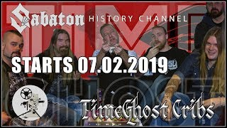 Sabaton History Starts 7 February 2019