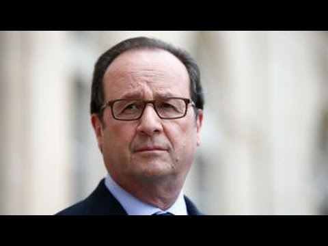 French president slams Trump