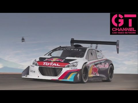 Fastest Pikes Peak Run Ever - Sébastien Loeb in 875HP Peugeot 208 T16