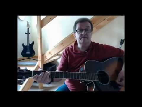 Seven Spanish Angels - Lesson - Acoustic Guitar Cover - Willie Nelson - (Cover by Pete Winnett)