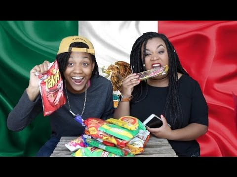 Americans Try Mexican Snacks🇲🇽