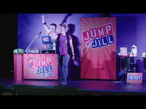 Jump with Jill Live Show Segment: SUPERPOWER VEGETABLES