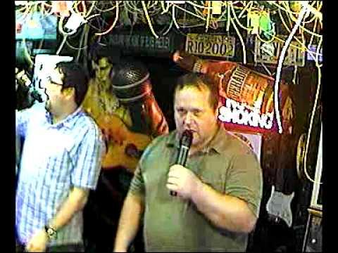 Blinker & Rainer singen Fiesta Mexicana  im Karaoke Fun Pub Stuttgart http://www.funpub.de singing