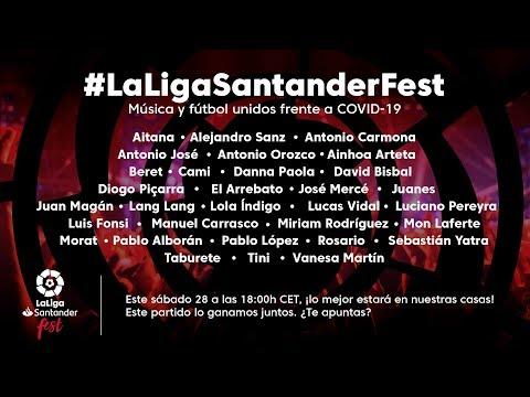 LaLiga Santander Fest, Un Tributo A Los Héroes En La Lucha Contra El COVID-19
