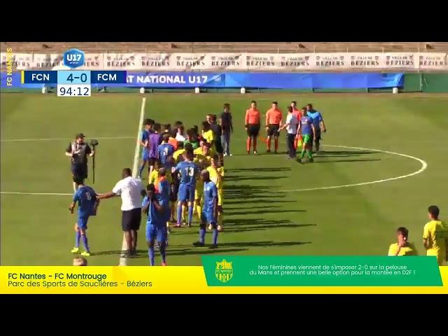 📺🔴 LIVE  - Championnat de France, demi-finale   FC Nantes U17 🆚 FC Montrouge U17 ⬇