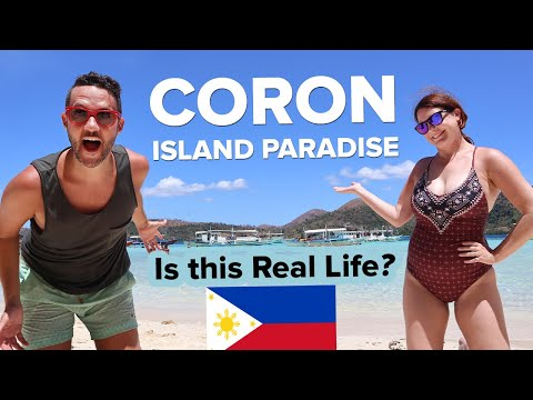 Coron Island Private Tour. Why we came to Philippines 🇵🇭 Foreigners first time Island Hopping 🏝