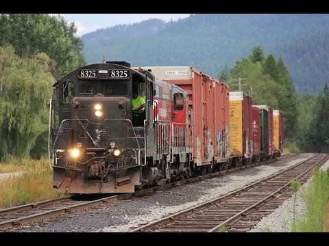 Railfanning Around Sandpoint, Idaho!