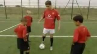 Cristiano Ronaldo Teaching Kids Soccer Tricks