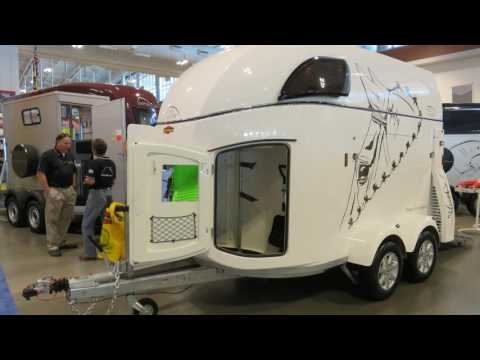 New horse trailer from Germany, Boeckmann introduced at NATD