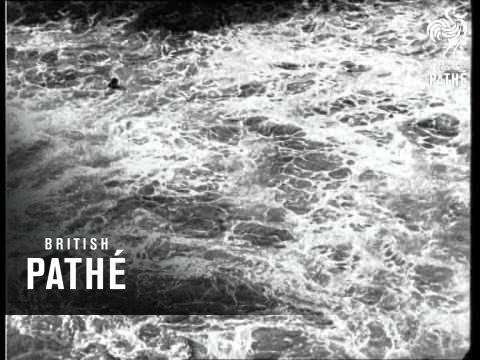 Defying Pacific's Mighty Billows (1924)