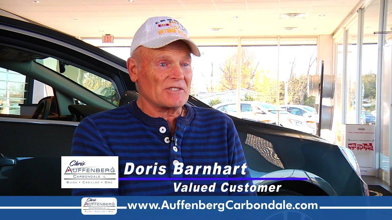 Chris auffenberg carbondale testimonial doris barnhart