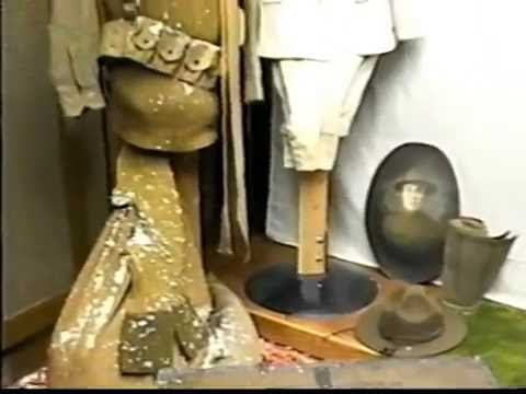 A Visit to the old Barnes County Historical Society Museum in 1995
