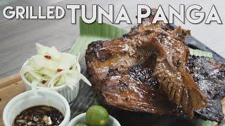 grilled tuna panga (tuna collar)