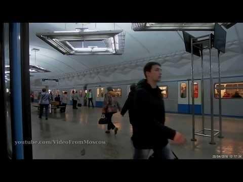 Станция метро Тульская вход // 20 апреля 2018