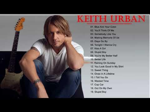 Keith Urban Greatest Hits Full Album - Best Songs of Keith Urban