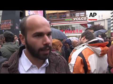 Protests against Turkish referendum result