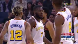 Golden State Warriors vs Portland Trail Blazers | November 4,2019