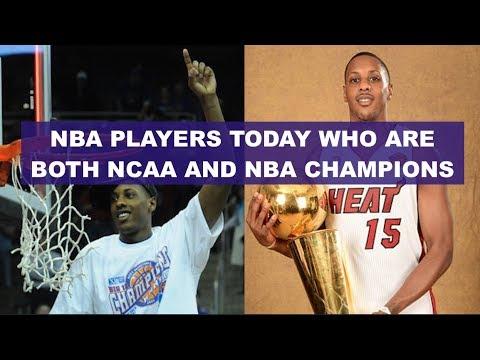 Active NBA Players Who's Won Both An NCAA And NBA Championship