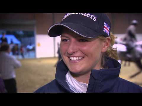 Showjumping - Emma Stoker  - Scope 2014