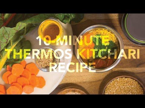 10-Minute Thermos Kitchari -- Vpk By Maharishi Ayurveda & Hot Lunch America