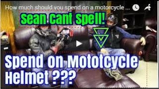 How much should you spend on a motorcycle helmet : srkcycles.com