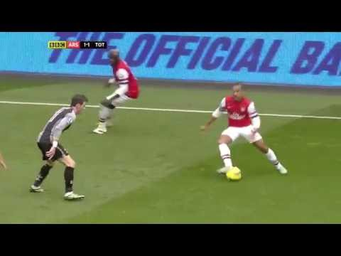 Arsenal vs  Tottenham Hotspur Highlights 17th Nov 12