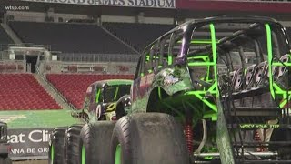 Monster Jam is taking over Raymond James Stadium this weekend