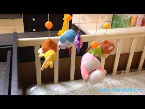 Мобиль Biba Toys Музыкальный Счастливые друзья Bm040 из раздела Детские игрушки и игры...