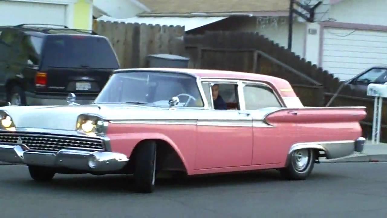 1959 Ford Galaxie U Turn