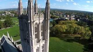 Trinity College from Above (Aerial Tour)