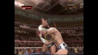 Legends of Wrestlemania PS3 CM Punk vs Rock