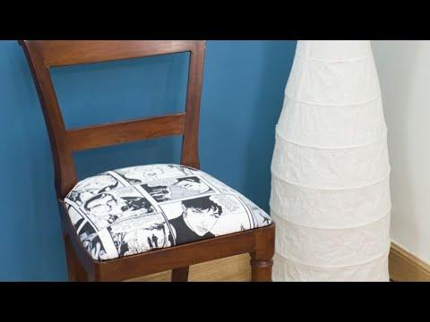 Tapizar y renovar una silla - Bricomania