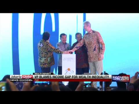 Jusuf Kalla Blames Income Gap for Wealth Inequality