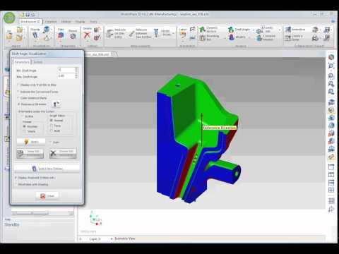 WorkXPlore 3D - ドラフト角