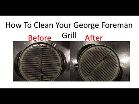 How To Clean The George Foreman Grill With No Effort At All